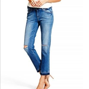 DL 1961 Nettle high rise cropped jeans